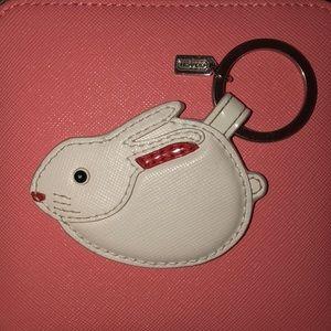 Coach Rabbit keychain